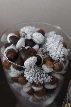 decoratiuni din ghinde si castane Acord and chestnut crafts 20
