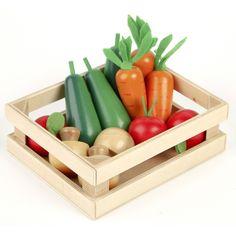 Jouets des bois Légumes d'hiver en bois Tildo T0134 jouet en bois