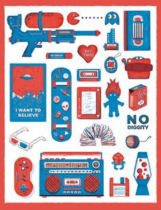 It was real sweet to be a 90s kid.  For prints: [LINK]
