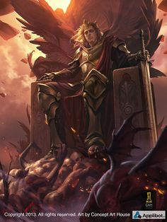Artist: Concept Art House - Title: King of Time adv - Card: Blind Patriot Hector (Faded)