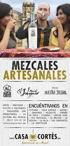 Casa Cortés / Inserto en publicación de Chill Out Oaxaca por Arrecife Magazine. #Mezcal