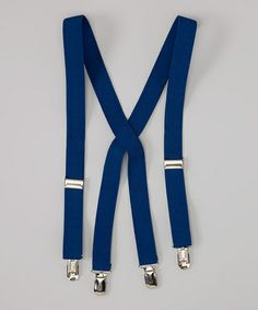 Another great find on #zulily! Navy Suspenders by Fouger for Kids #zulilyfinds