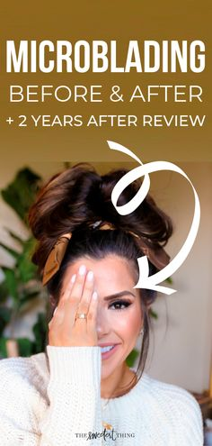 Tips For Better Brows + My Microblading Experience – Eyebrows Beauty Tips For Skin, Best Beauty Tips, Beauty Skin, Beauty Hacks, Beauty Stuff, Beauty Secrets, Best Skincare Products, Best Eyebrow Products, Beauty Products