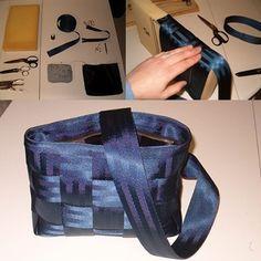 Seatbelt purse