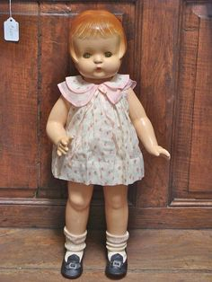Effanbee Composition Patsy Ann from ~ BAYBERRY'S ANTIQUE DOLLS ~ found @Doll Shops United http://www.dollshopsunited.com/stores/bayberrys/items/1280218/Effanbee-Composition-Patsy-Ann #dollshopsunited