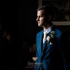 Ed, a natural window lit portrait of a groom taken at Middleton Lodge #middletonlodge #groomportraits #weddingphotography