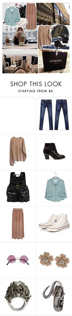 """Christina Aguilera, Maroon 5 - Moves Like Jagger"" by paty ❤ liked on Polyvore featuring Brave Space Design, STYLEKELLY, Zara, Jas M.B., Converse, Lydia Courteille and patyx3"
