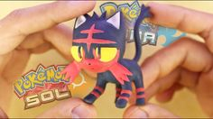 "LITTEN | POKEMON SUN and MOON ""TUTORIAL"" ✔POLYMER CLAY ✔COLD PORCELAIN"