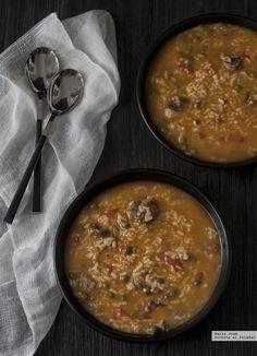 Las 15 mejores recetas de Thermomix según nuestros expertos Food N, Good Food, Food And Drink, Paella, Menu, Tapas, Risotto, Curry, Cooking Recipes