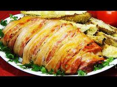 Atât de aromat încât toți vecinii au cerut rețeta! Reteta delicioasa pentru intreaga familie! - YouTube Canned Meat, Carne Picada, Ground Meat, Pork Recipes, Meatloaf, Food Videos, Cooking Tips, Entrees, Hot Dog