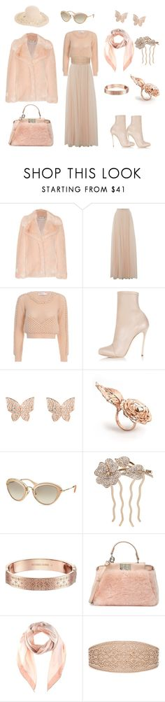 """""""Friday. Cold but spring. March."""" by desinedbyk ❤ liked on Polyvore featuring STELLA McCARTNEY, Needle & Thread, Zimmermann, Dsquared2, Latelita, LeiVanKash, Miu Miu, L. Erickson, Michael Kors and Fendi"""