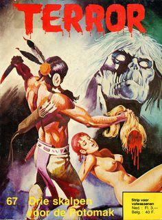 Cover for Terror (De Vrijbuiter; De Schorpioen, 1971 series) #67