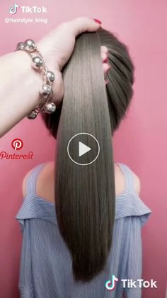 hairstyle_biing has just created an awesome short video with original sound - ha. hairstyle_biing has just created an awesome short video with original sound - hairstyle_biing Dance Hairstyles, Work Hairstyles, Braided Hairstyles, Popular Hairstyles, Curly Hair Styles, Natural Hair Styles, Pinterest Hair, Grunge Hair, Hair Videos