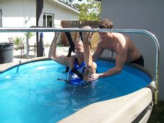 The Vertical Pool. Portable. Adaptable. Rentable.