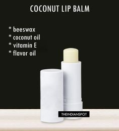 Homemade Organic Coconut Lip Balm - Keeps your lips soft. For a person who always has cracked dry lips in the winter, I just tried this, and my lips are super soft!