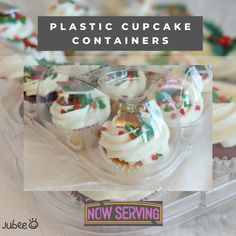 These plastic cupcake containers are made of food grade PET plastic material, non-toxic, safe and reliable, durable for use. Their clear appearance allows you to showcase your baked goods with eye-catching displays. Shop now and save your cupcakes. #cupcakecontainer #cupcake #cupcakebirthday #fondantcupcake #icingcupcakes #cakeshop #bakeshop #birthday #cupcakeholder #cupcakecarriers #jubeebag #clearcupcakecontainer #plasticcontainer #cupcakebox #containerbox #birthdayparty #events Cupcake Icing, Cupcake Boxes, Box Cake, 12 Cupcakes, Fondant Cupcakes, Birthday Cupcakes, Plastic Animals, Plastic Material