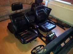Genuine Mk2 leather interior