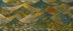 In the Deep, tapestry. Louise Oppenheimer   British Tapestry Group