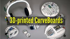 CurveBoards enable easier testing of circuit design on electr. 3d Printed Objects, Structure And Function, Circuit Design, Materials Science, Nanotechnology, Enabling, Design Development, Tech News, Science And Technology