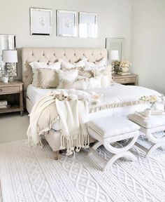 Home Remodel Bedroom .Home Remodel Bedroom Cozy Bedroom, Home Decor Bedroom, Modern Bedroom, Contemporary Bedroom, Taupe Bedroom, French Bedroom Decor, All White Bedroom, Minimalist Bedroom, Budget Bedroom