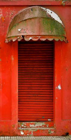 Door Awning Over Head