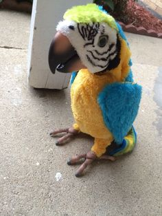FurReal Squawkers Talking Parrot Bird Only by Hasbro 2006 Macaw Works | eBay