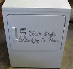 Laundry room idea..