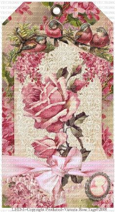 Attic Floral Collection©  Lilacs & Pink Roses Collection 1
