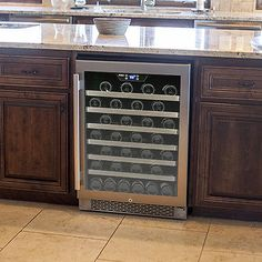 #LGLimitlessDesign and #Contest. Avallon 54 Bottle Built-In Wine Cooler. for use in kitchen island to stow French wine.