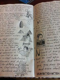 Illustrating Jack Parsons by anselm23, via Flickr