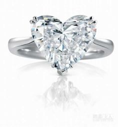 Image detail for -Heart-shaped diamond ring, eternal imprint-Wedding Rings-USA Australia