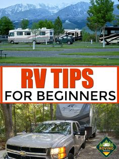 Here are some Easy RV Tips for Beginners to help you with your new RV. These are simple tips for new RVers to help you camping in your RV and getting packed for your new RV. Rv Hacks, Camping Hacks, Family Camping, Tent Camping, Camping For Beginners, Rv Travel, Rv Life, Rv Living, Traveling