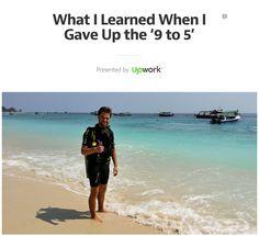 Was ich gelernt habe, als ich meinen 9-to-5-Job aufgegeben habe