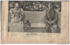 """Rekognoscierung  - Druck, entnommen   aus """"die Gartenlaube"""", 1897"""