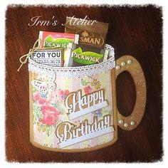 Irm's Atelier: Happy Birthday Mug.....