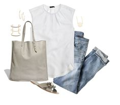 """""""Untitled #3879"""" by shopwithm ❤ liked on Polyvore featuring J.Crew, Madewell, Argento Vivo and Sarah Chloe"""
