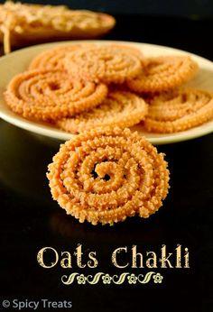 Oats Murukku North Indian Recipes, South Indian Food, Indian Food Recipes, Ethnic Recipes, Indian Sweets, Indian Snacks, Easy Baking Recipes, Cooking Recipes, Khaman Dhokla