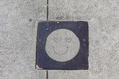 a sweet street smile