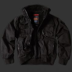 Thor Steinar Bunda Kompakt black M :: CRUSADERSHOP - streetwear, outdoor oblečení