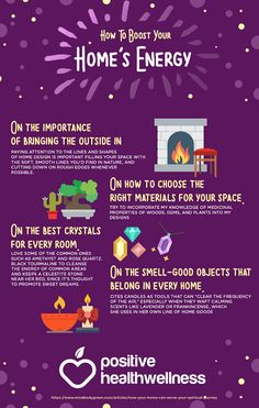 How To Boost Your Home's Energy – Positive Health Wellness Infographic Magick Spells, Wicca Witchcraft, Witch Powers, Witchcraft For Beginners, Baby Witch, Under Your Spell, Eclectic Witch, Modern Witch, Witch Aesthetic