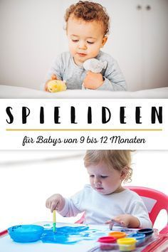 8 Beschäftigungsideen für dein Baby, damit die Langeweile keine Chance hat!