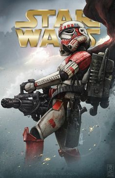 Vader's Fist - Shock Trooper by Shane Molina Star Wars Film, Star Wars Day, Star Wars Clone Wars, Star Wars Pictures, Star Wars Images, Stargate, Sith, Stormtrooper Art, Star Wars Personajes