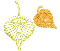 Simple Branch Irish crochet pattern / tutorial with step-by-step pictures, written instructions and charts. Appliques Au Crochet, Crochet Leaf Patterns, Crochet Earrings Pattern, Crochet Leaves, Crochet Motifs, Form Crochet, Crochet Bracelet, Crochet Diagram, Crochet Chart