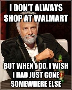 Only At Walmart. Every.Single.Time! Oh why do I torture myself?!