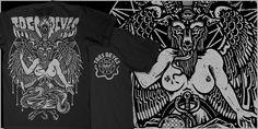 """Tres Reyes - BAPHOMET"" t-shirt design by Craig Robson"