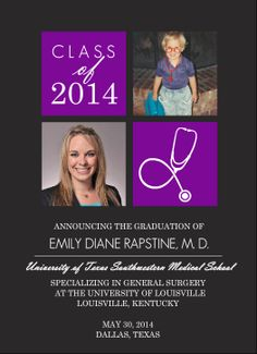 graduation announcement templates Graduation announcement