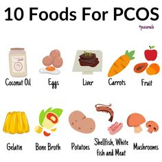 Diet plays a huge role in reversing the symptoms of PCOS. Everything in the body works together. So we shouldn't be focusing on addressing one thing. We must address the body as a whole. These foods will resolve a sluggish thyroid which will have a knock on effect on increasing the metabolism, supporting the liver and gut.