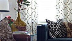 diy no sew faux roman shade Living Room Corner Curtains, Brown Curtains, Short Curtains, Net Curtains, Rod Pocket Curtains, Curtain Panels, Bedroom Curtains, Long Shower Curtains, Faux Roman Shades