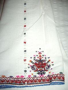 Kapanska, Bulgaria EMBROIDERY OF WOMEN sleeve shirt   КАПАНСКА ШЕВИЦА НА РЪКАВА НА ЖЕНСКА РИЗА ОТ с.ДРЯНОВЕЦ РАЗГРАДСКО