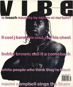 #7. Treach (VIBE, 1992) - The 50 Greatest Hip-Hop Magazine Covers | Complex
